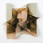 Untitled #10, 2013 from the series Self-Portrait Origami Tessellation