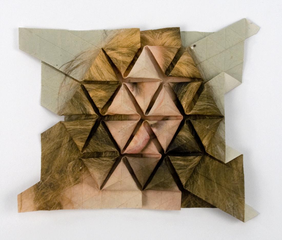 Self Portrait Origami Tessellations