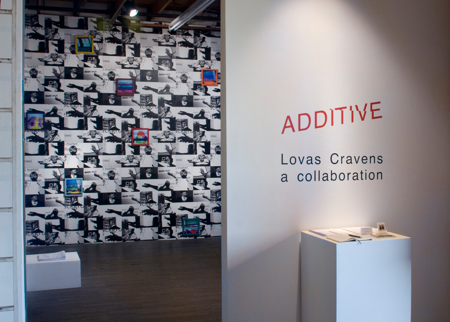 ADDITIVE Lovas Cravens a collaboration, 2017, 500X Gallery, Dallas, TX