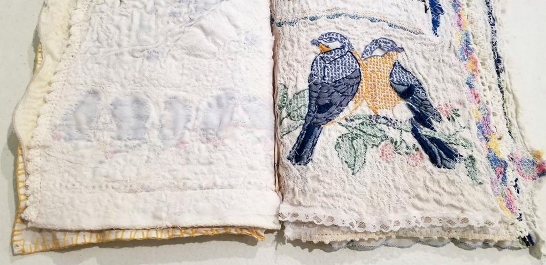 Deanna Wood, The Lives of Birds, Artist Book