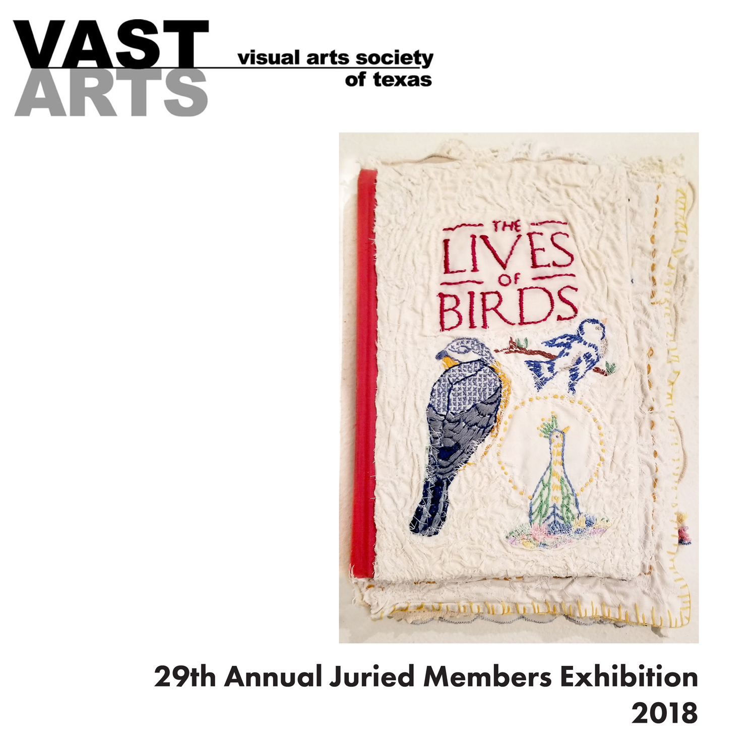 Visual Arts Society of Texas Annual Members Exhibition, UNT On The Square, 2018