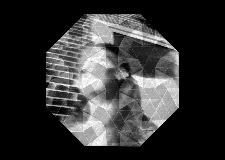 Mind Chatter, Lynné Bowman Cravens, Inkjet pigment printed pinhole paper negative, 2015
