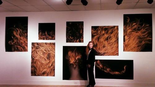 Lynné Bowman Cravens by Laura Ray, Vessel, Hair