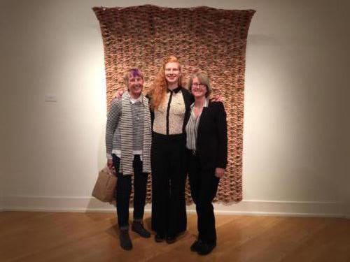 Kathy Lovas, Lynné Bowman Cravens, and Dornith Doherty by Adam Neese, Vessel, Scrutinize